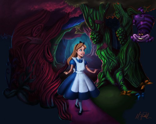Alice In Wonderland by matthewhoworth
