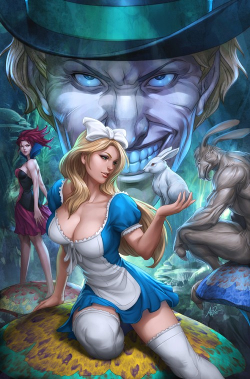Alice in Wonderland by Artgerm