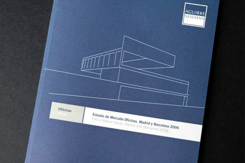 Annual Report Design for Aguirre Newman