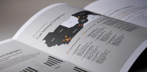 Annual Report Design for Child Abuse Network