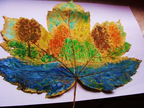 Autumn leaf No2