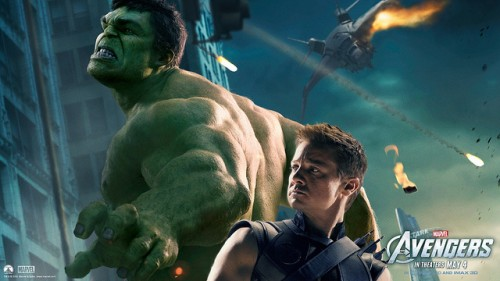 Avengers [Hulk & Hawkeye] Wallpaper 8 (1080p)