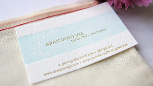 Awesome Letterpress Business Cards