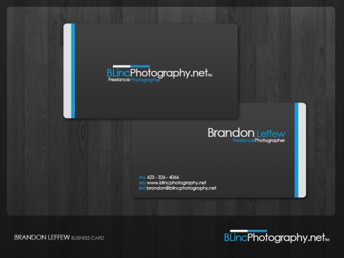 BLincPhotography Business Card