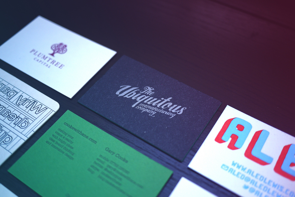 28 Creative Typographic Business Card Designs - GraphicBubbles