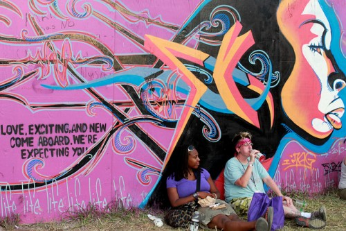 Bonnaroo 2010 Graffiti