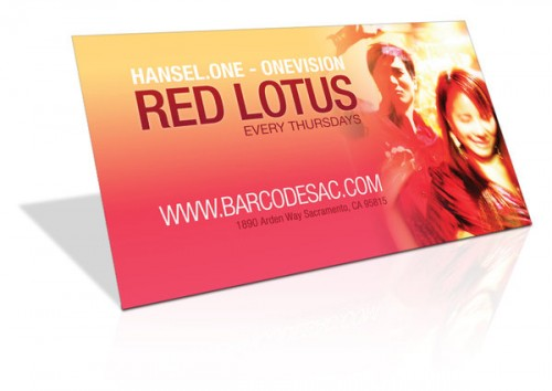 Business Card - Red Lotus