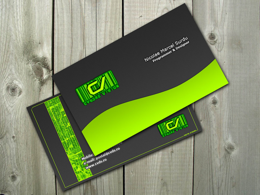 Business Card by PostaL2600