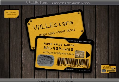 Business Card proyecto