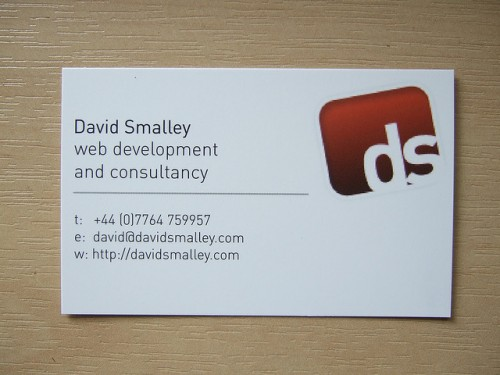 Business Cards Have Arrived