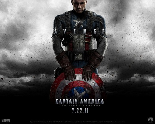 Captain Americe Movie Wallpaper
