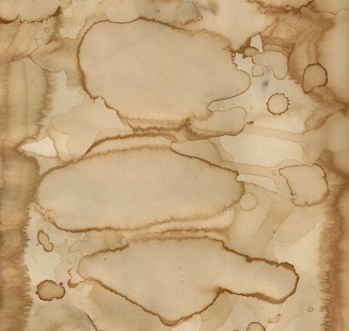 Coffee Stained Paper Texture
