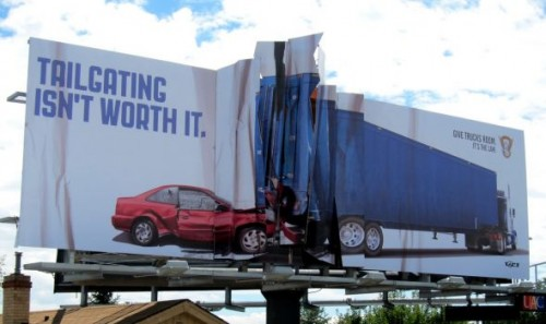 Colorado State Patrol Billboard Collision