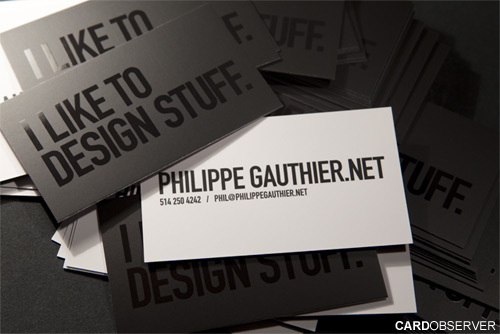 Custom Business Card