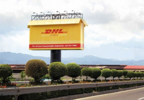 DHL For all your heavyweight shipments