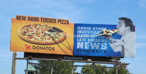 Donatos Pizza Newscaster