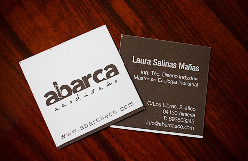 Eco-Friendly Business Card