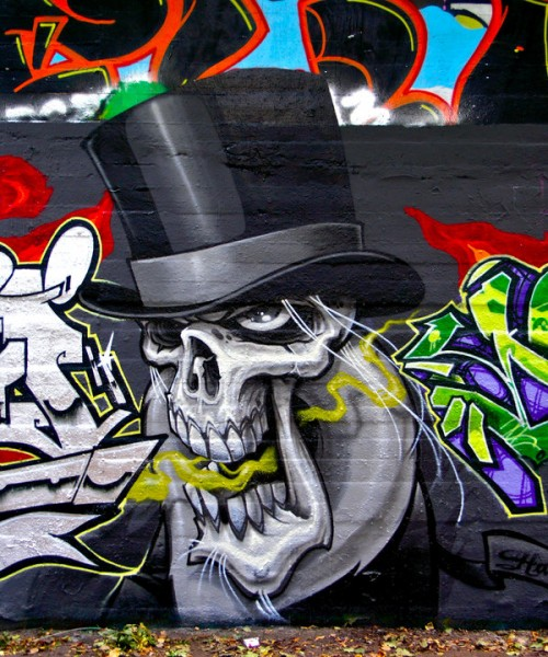 Example of Graffiti Artwork