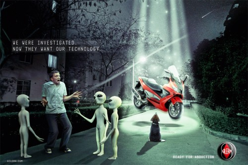 Gilera Abduction