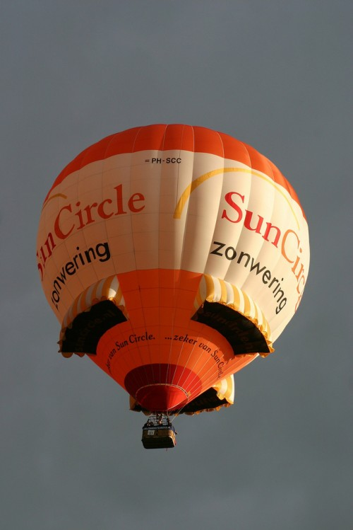 Hot-air Balloon Sunblind Special Shape