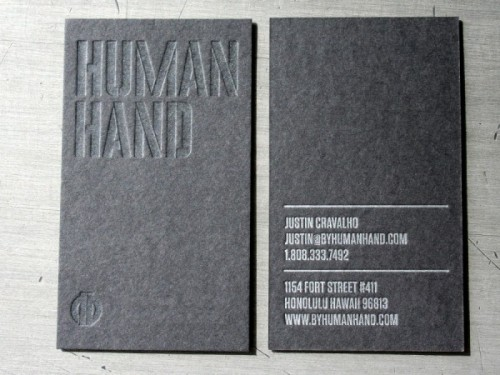 Human Hand Varnish