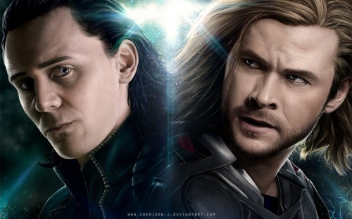 LOKI-THOR Wallpaper