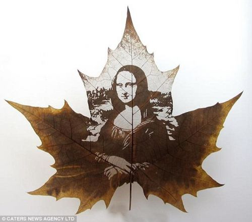 Leaf Art Carvings