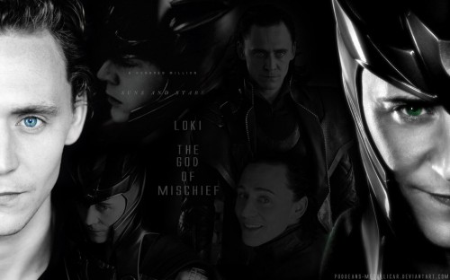 Loki Wallpaper by Puddeans Metallicar