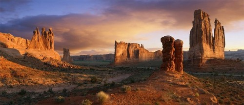 Morning at Arches