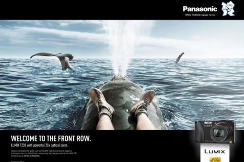 Panasonic Front row, Whale