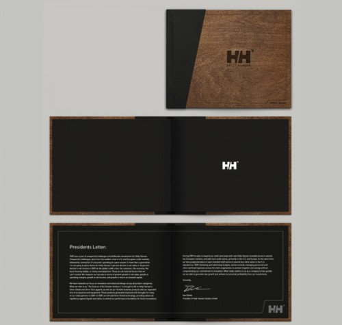 Proposed annual report project for Helly Hansen by Shelby White