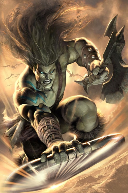Skaar Son of Hulk