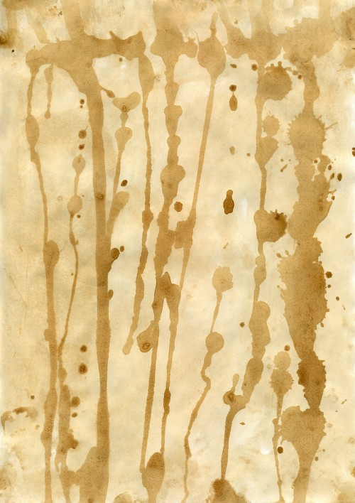 Stained Paper Texture Design