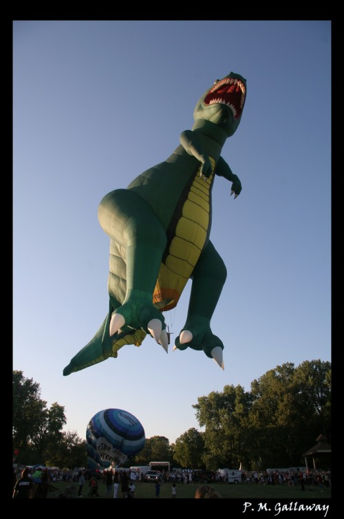 T-Rex Hot Air Balloon