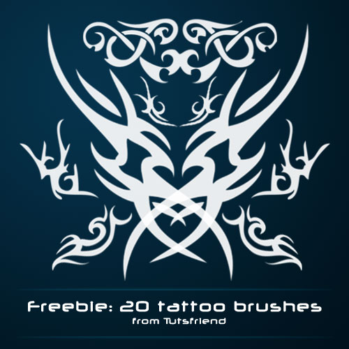 Tattoo Photoshop brushes