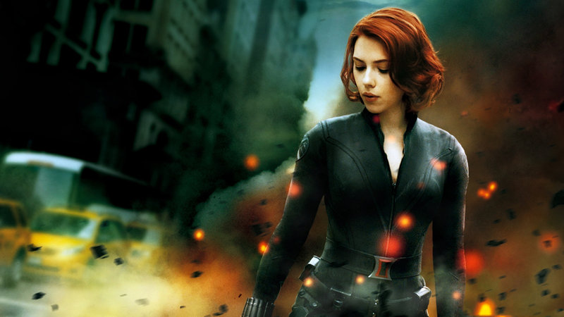 The Avengers Black Widow HD Wallpaper