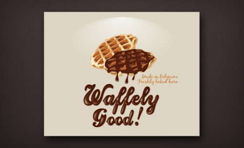 Waffely Good ! by lilibellule