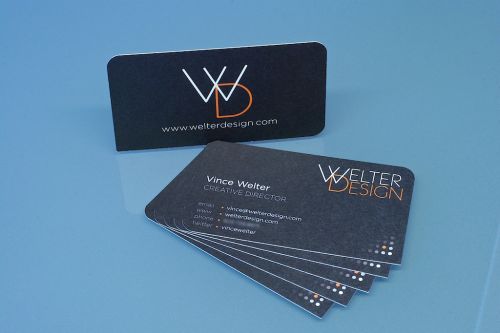 Welter Design Business Card