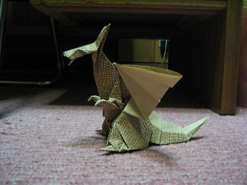 dragon of origami