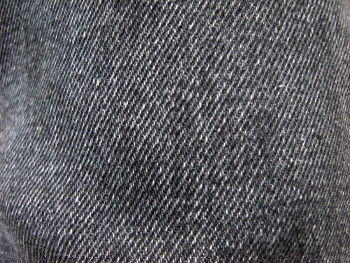 Black Jean Cloth Texture