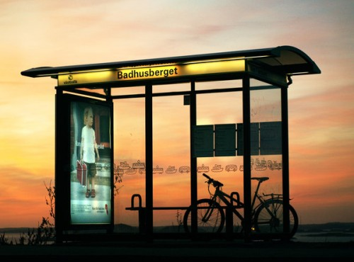 Bus Stop by Per Nuder