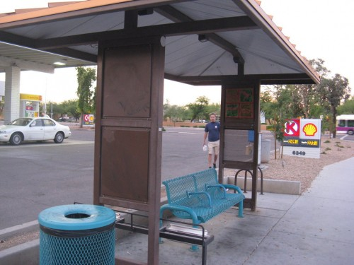 Bus Stop in Tempe