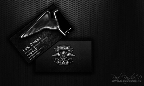 Chopper Academy Business Cards