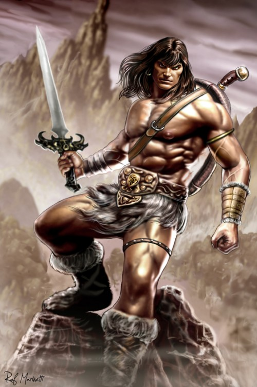 Conan by RaffaeleMarinetti