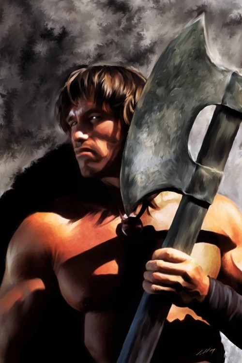 Conan the Barbarian by Axlsalles