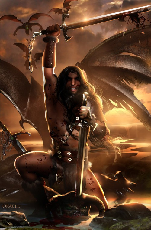 Conan the Barbarian by Mystic-Oracle