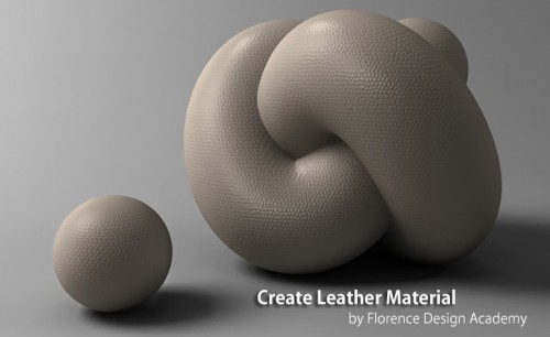 Create Leather Material