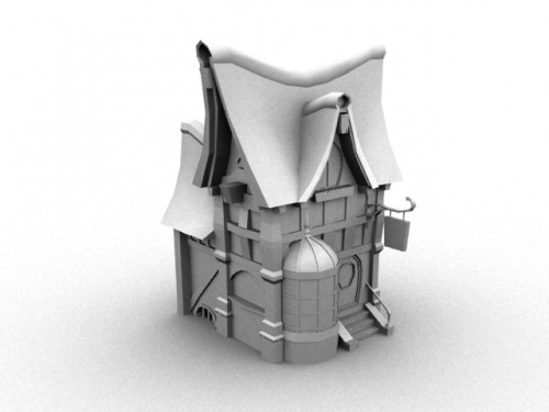 Creating a Victorian House Part 1 Modeling