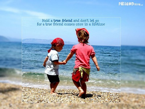 Friendship Wallpaper by Just 2 Hum Tum