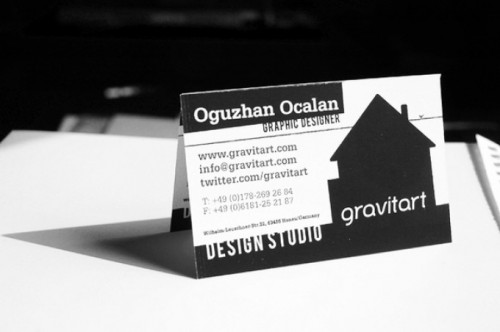 Gravitart Business Card